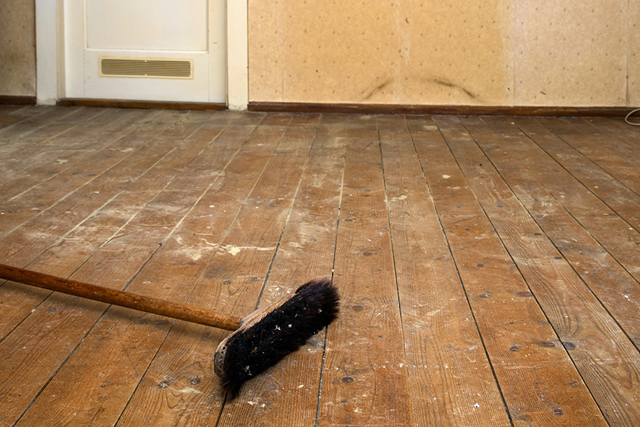 Entrümpelte Wohnung, noch unsaubere Wohnung– Talent Entrümpelung