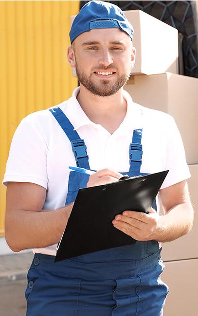 Haushaltsauflösung – Logistiker bei einer Haushaltsauflösung – Talent Entrümpelung