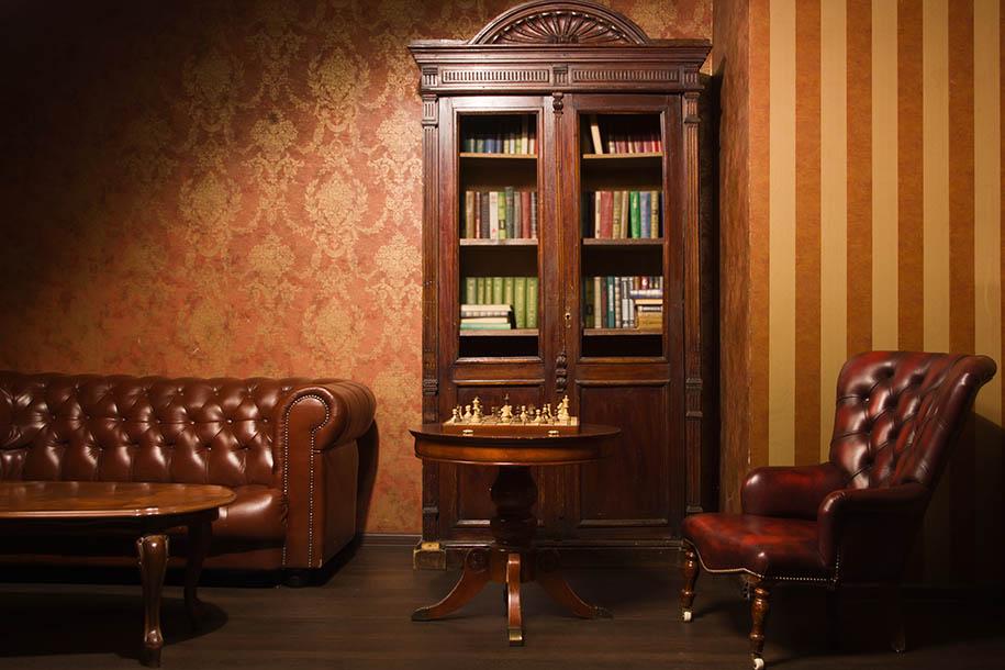 Haushaltsauflöser – Wohnung mit altmodischen Möbeln – Talent Entrümpelung
